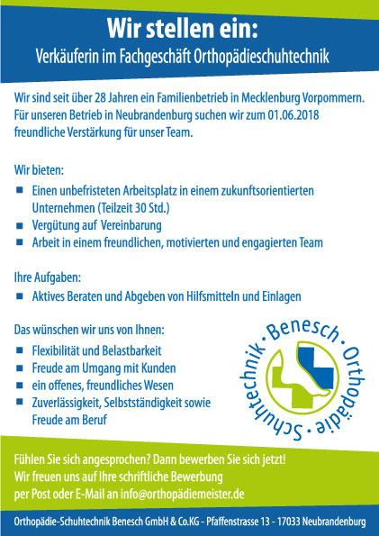 Stellenangebot Neubrandenburg